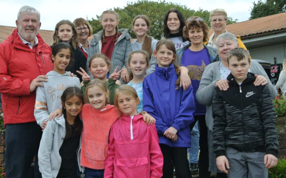 Choristers' day trip to Oakwood Theme Park